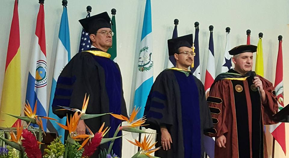 YESTERDAY In Guatemala City conferring aoctor of Ministry Degree to Pastor Victor Suchite.con Victor Suchite.